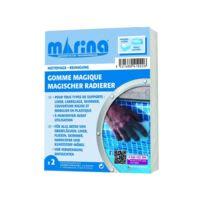 MARINA - Lot de 2 éponges magiques pour ligne d'eau
