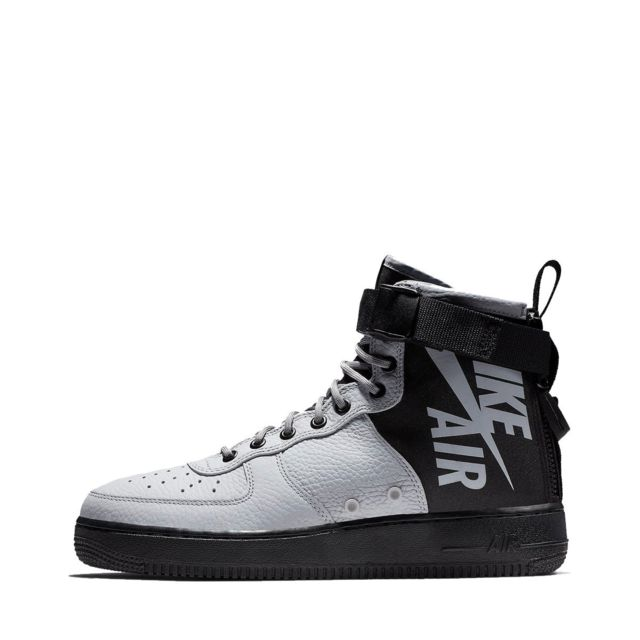 quality design 62960 6ad7f Nike - Baskets Sf Air Force 1 Mid - 917753-009 - pas cher Achat   Vente Baskets  homme - RueDuCommerce