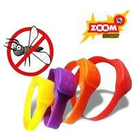 Totalcadeau - Bracelet anti piqure moustique rouge
