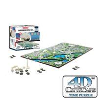4D Cityscape - Puzzle 4 Dimensions Washington D.C - CityScape
