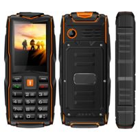 a7e73924ec43 YONIS - Portable de Chantier Téléphone Etanche Triple SIM Antichoc IP68 21  Touches LED FM Bluetooth