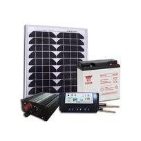 Sellande - Kit Solaire Autonome pour Site Isolé 12V 20W / 81Wh par jour