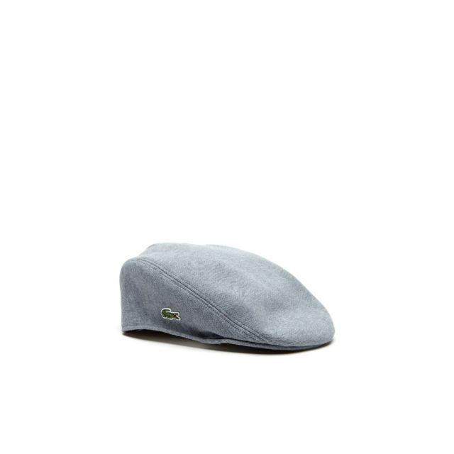 c74cae2354e8 Lacoste - homme - Casquette gris Rk0345 - Taille vêtements - M - pas cher  Achat   Vente Casquettes, bonnets, chapeaux - RueDuCommerce