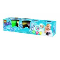Ses Creative - Peinture pour le bain Aqua peinture : 4 pots avec tampons