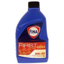 Total - Bidon 1 litre d'huile moteur Fina First 600 0W30