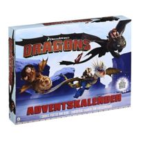 Dragons - Calendrier de l'Avent DreamWorks Allemand Figurines - Spin Master