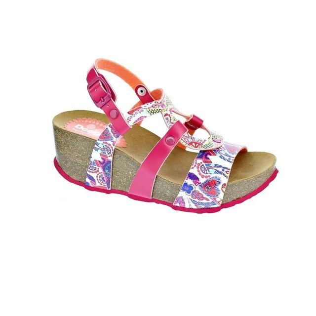 6b7dacabd79870 Desigual - Chaussures Femme Sandales modele Bio - pas cher Achat ...