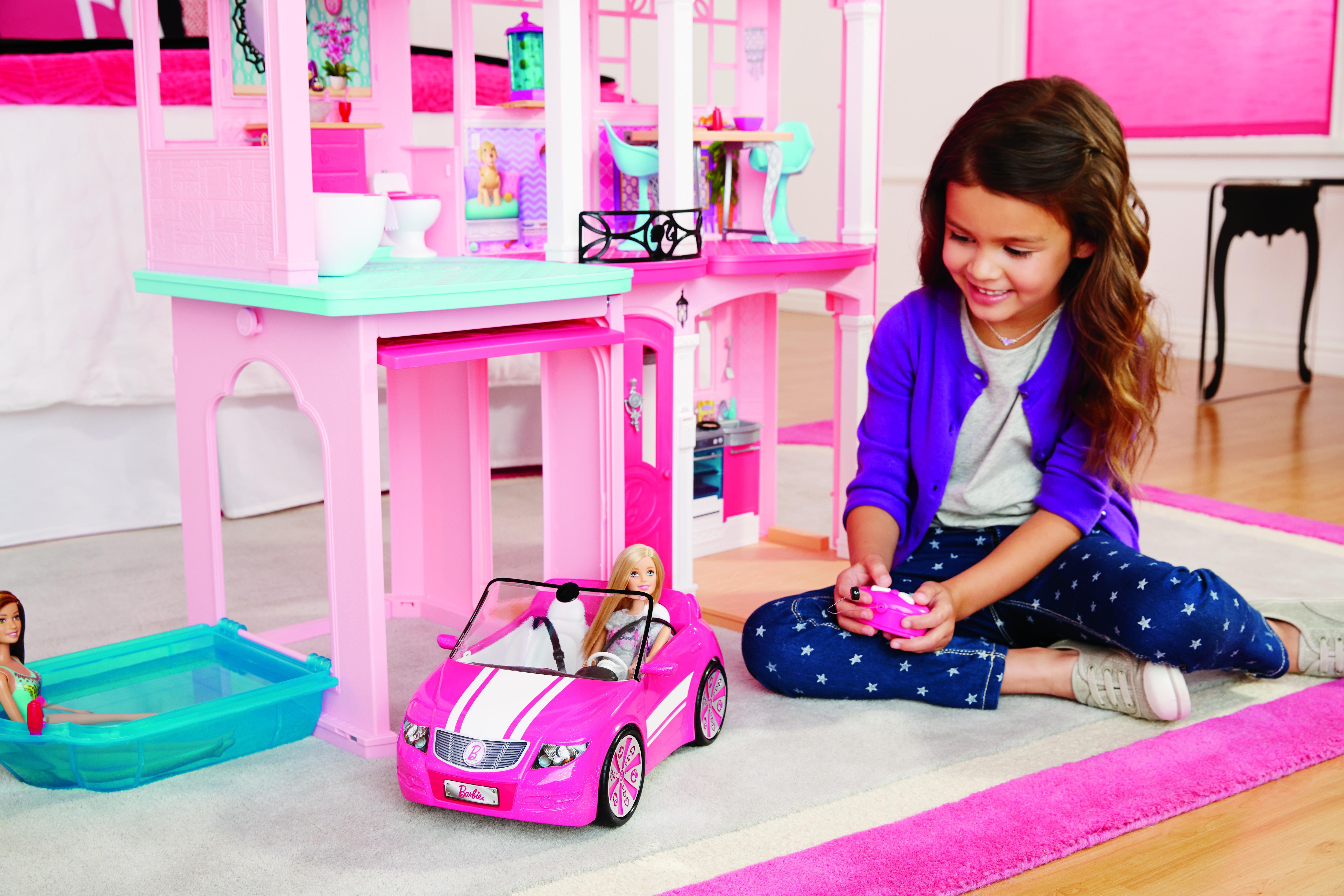 Barbie la maison de r ve de ffy84 pas cher achat vente maisons de poup es rueducommerce - Barbie maison de reve ...
