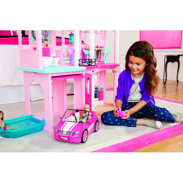 Barbie la maison de r ve de ffy84 pas cher achat vente maisons de poup es rueducommerce - Maison de reve de barbie ...
