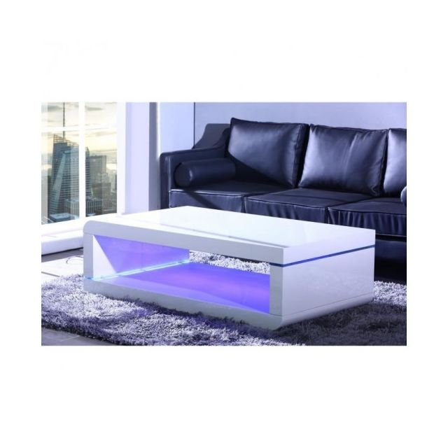 Usines Basse Discount Led Blanc Table Avec Éclairage Biwan 140cm O8vm0wPnyN