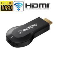 Yonis - Clé Hdmi Wifi Android iOs iPhone Miracast Airplay Dlna Chromecast Tv