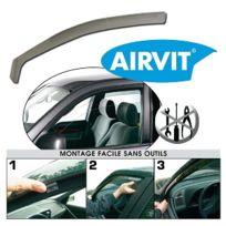 Airvit - Jeu de 2 déflecteurs avant 1 droit et 1 gauche, pour Ford Fiesta 5 portes 02 Ref 201338
