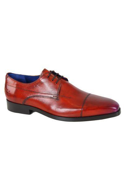 e045e163ee37f Melvinhamilton - Chaussure en cuir Melvin   Hamilton Lewis 8 Orange ...