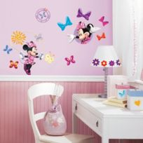 Room Mates - Minnie Stickers Muraux Enfant -4 Planches Repositionnables