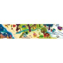 Wandpiraten - Papier Peint Mural Pour Enfants Animaux Du Monde 200 X 46,5 Cm