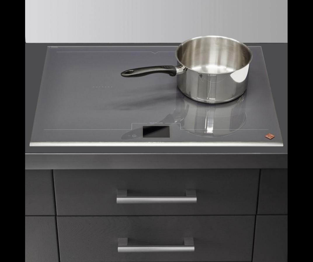 tout neuf cc8ea eb077 TABLE INDUCTION DPI7698G - 65cm 4 feux 7400w gris