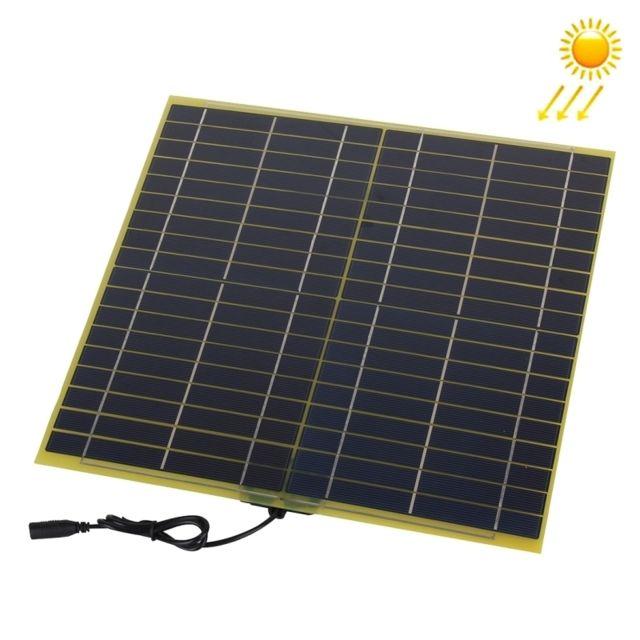 wewoo chargeur solaire pour la batterie de voiture de 12v de panneau de fibre de verre. Black Bedroom Furniture Sets. Home Design Ideas