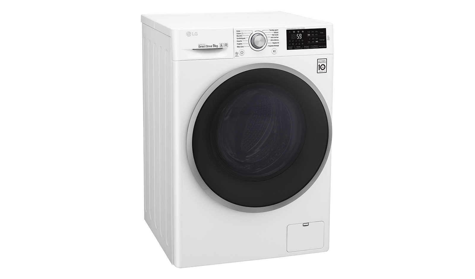 lg lave linge f94j61wh blanc achat lave linge hublot a. Black Bedroom Furniture Sets. Home Design Ideas