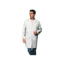 Label Blouse - Vêtement de travail Blouse Blouse travail pressions 100 % coton Blanc T1