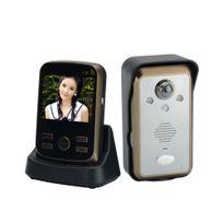 Auto-hightech - Interphone visiophone sans fil écran Lcd 3,5 pouces Détecteur de mouvement étanche