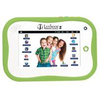 Lexibook - Tablet Junior 2 - Tablette Tactile 7'' Capacitif - Résolution 800 x 480 - RAM 1 Go - Stockage 4 Go - Wi-Fi - Bluetooth - Android 4.1 - 3 à 6 ans - Verte