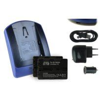 mtb more energy® - 2 Batteries + Chargeur USB, Np-fm50 pour Sony Cyber-shot Dsc-s30, S50, S70, S75