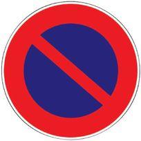 Outibat - Panneaux de signalisation ronds Stationnement interdit