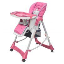 Mobilier Porto Chaise Serie Deluxe Bébés Haute Pour Et Tout Esthetique Hauteur Rose Réglable Petits Novo 8nP0wOk