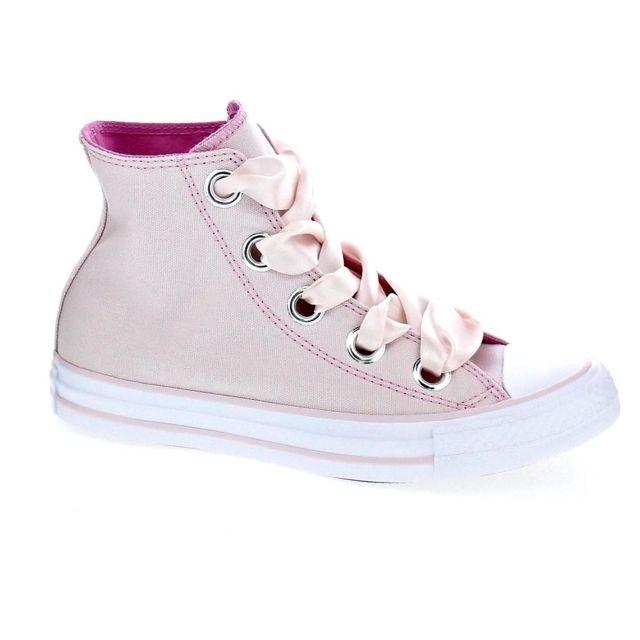 dc59fe96fb18a Converse - Chaussures Converse Femme Baskets botte modele Chuck Taylor Star  Big