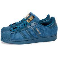 Adidas originals - Superstar Nylon Junior Bleu Marine