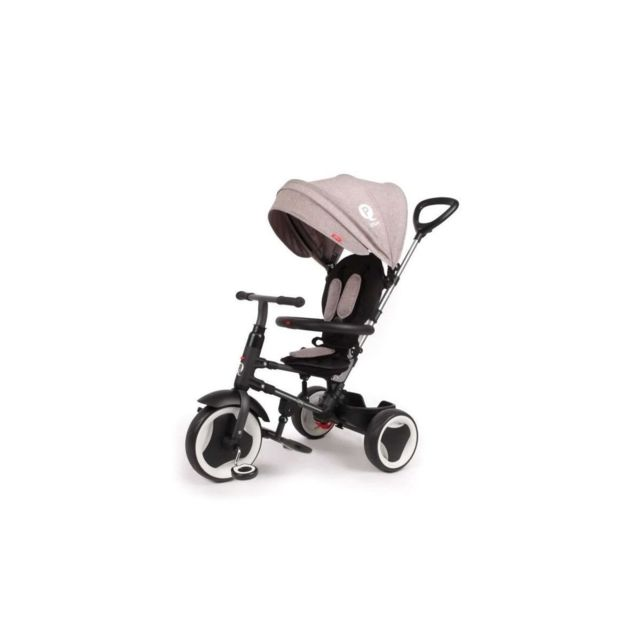 Ociotrends Qplay Tricycle Evolutif Rito - Pliage compacte - Gris