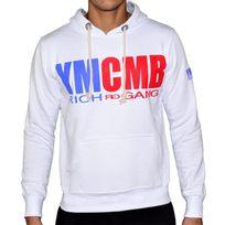 Ymcmb - Sweat à Capuche - Homme - Hs46 Rich Gang - Blanc