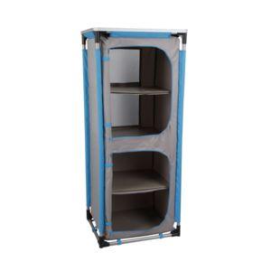 carrefour meuble de rangement 59 x 48 x 140 cm pas cher achat vente meuble de camping. Black Bedroom Furniture Sets. Home Design Ideas
