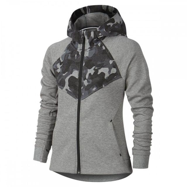 Nike Sweat Tech Fleece Windrunner Junior 716370 010 Gris