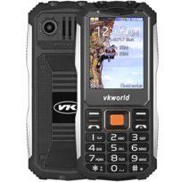 Auto-hightech - Téléphone avec 2.4 pouces - noir