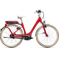 Cube - Vélo Électrique Elly Cruise Hybrid 500 Red´n´white 2017 easy Entry 46 Cm