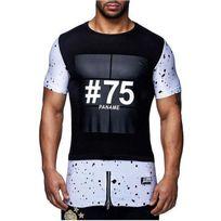 David Gerenzo - Tee shirt Paname 75 T-shirt G-d 126 Noir