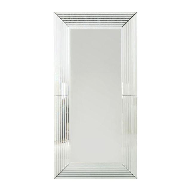 Karedesign miroir linea 200x100cm kare design ccdh moselle for Miroir hauteur 200