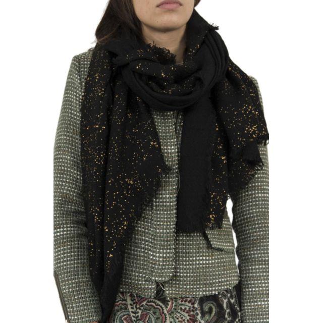 Desigual - Foulards 17wawfb5 metal splatter noir - pas cher Achat   Vente  Echarpes, foulards - RueDuCommerce 19fe69bf561