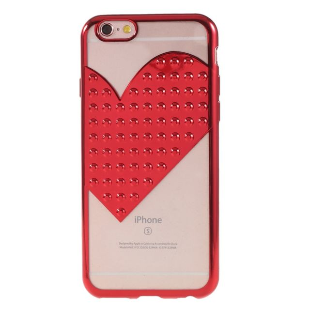 coque iphone 6 coeur rouge