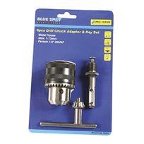 Blue Spot Tools - Blue Spot Kit Mandrin + ClÉ Sds 3 PiÈCES