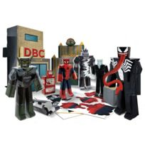Jazwares - Spider-Man Ultimate - Set Papercraft Battle at Oscorp Deluxe Pack