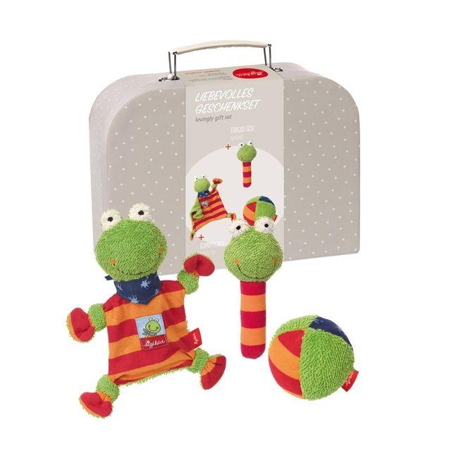 Sigikid Coffret cadeau Folunder Frog