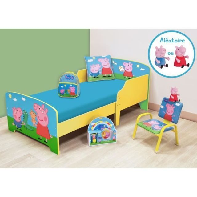 CHAMBRE COMPLETE BEBE CIJEP PEPPA PIG Pack chambre complete - 6 éléments