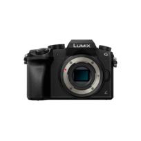 PANASONIC - Appareil photo hybride - Lumix G7 noir nu