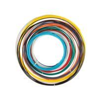 """Perel - Jeu Avec Filament Pla - 1.75 Mm 1/16"""" 10 Couleurs - Pour Imprimante 3D Et Stylo 3D"""