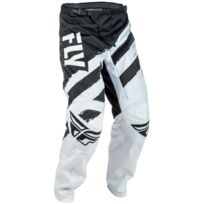 Fly Racing - Pantalon F-16 Blanc Noir