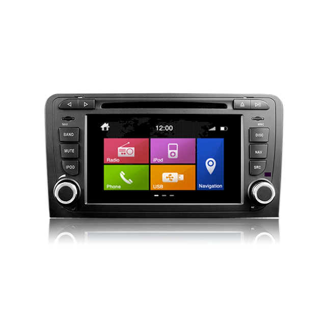 Dynavin Audi A3 8P, Autoradio Gps Tactile Bluetooth Usb Sd Divx Tv Fm Version Windows Ce N6