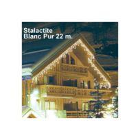 Millumine - Guirlande Lumineuse Stalactite blanc pur 22 m