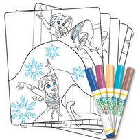 Crayola - La Reine des Neiges - Kit coloriage Color Wonder Reine des Neiges